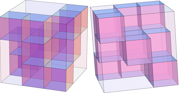 Joel: 13 cubes