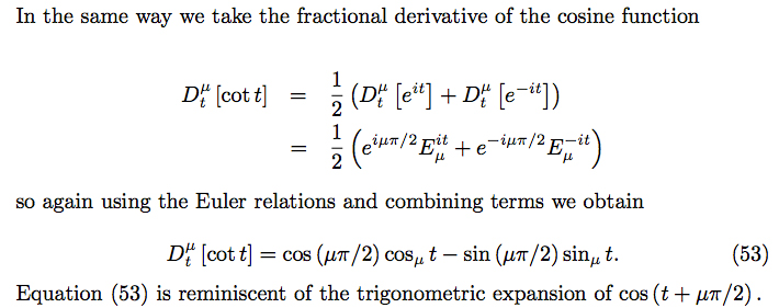 Fractional Derivative