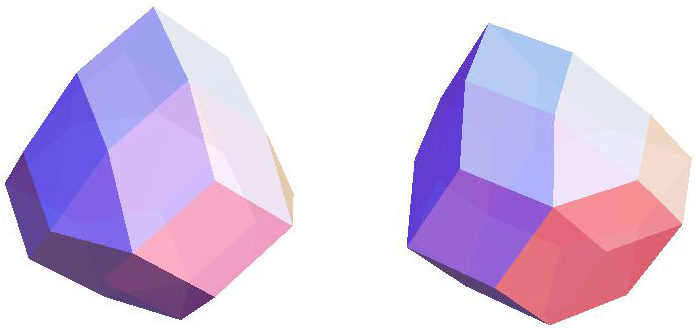 Rhombic Dodecahedron + Tetrahedron