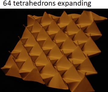 64 tetrahedra