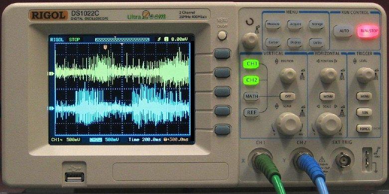 Bio 301 - Rigol Oscilloscope