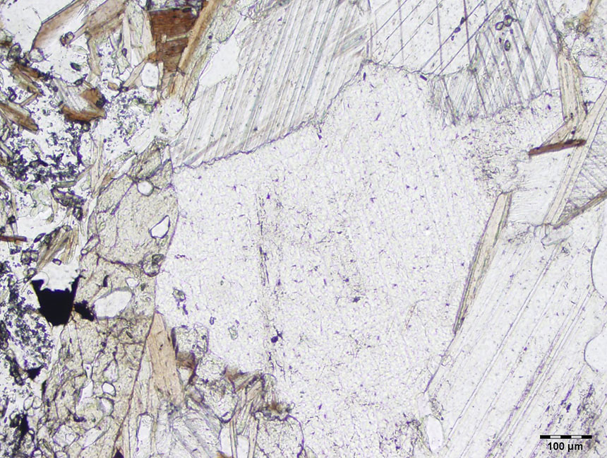 Pyroxene Thin Section Properties Pyroxene Thin Section