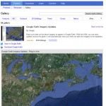 see extent of imagery updates