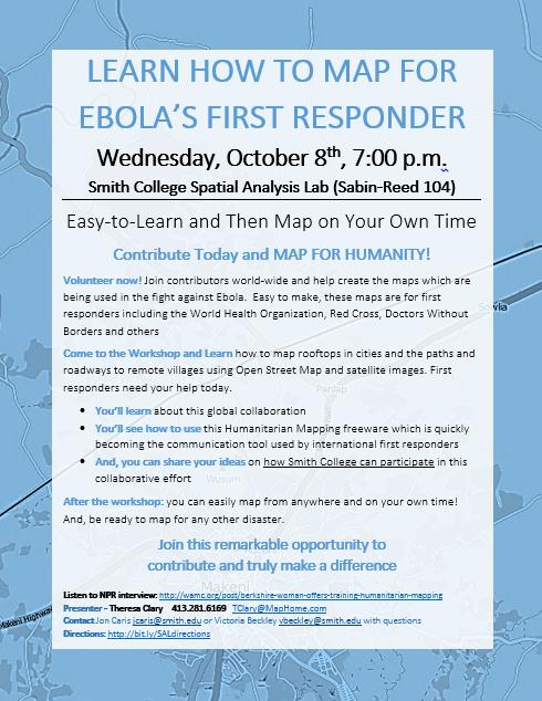 ebol workshop poster