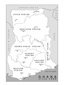 Ghana - circa 1960