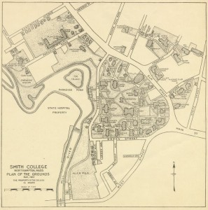 Smith College Map 1922