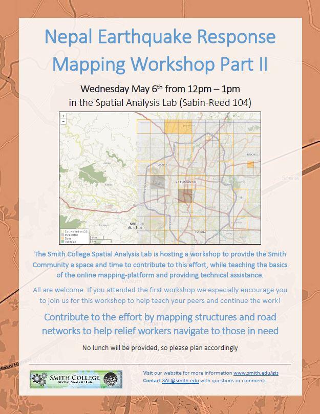 Nepal Earthquake Mapping Workshop II