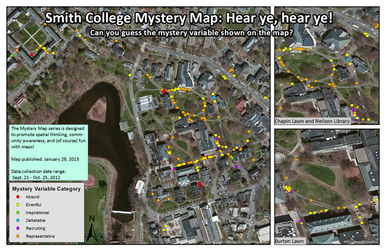 Hobart And William Smith Campus Map.Mystery Map Gallery Smith Gis