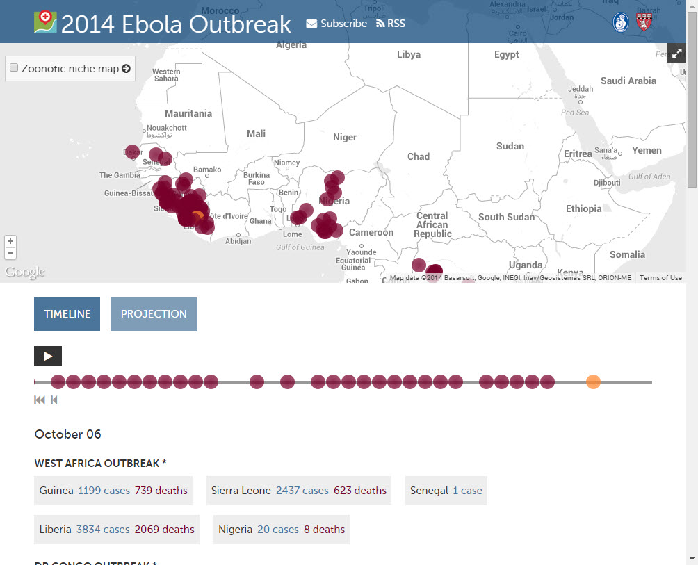 Ebola First Responder Mapping Workshop