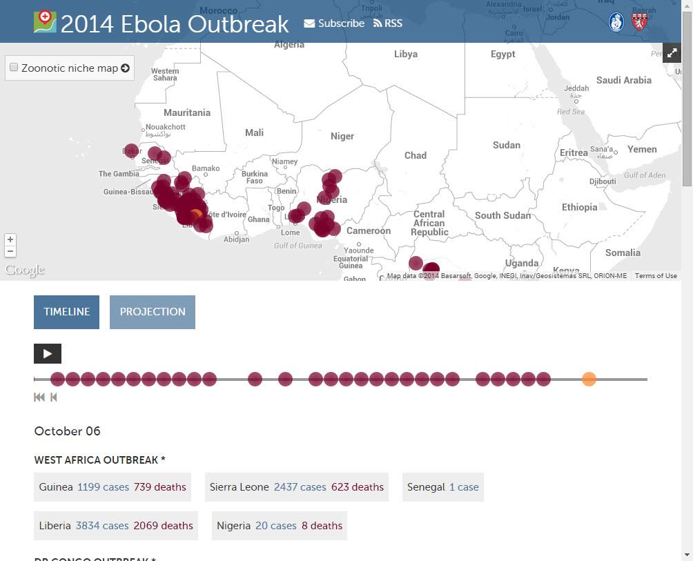 Ebola First Responder Mapping Workshop