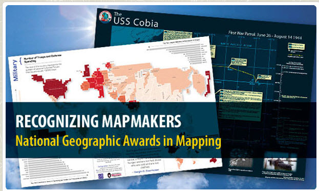 NATIONAL GEOGRAPHIC AWARD IN MAPPING